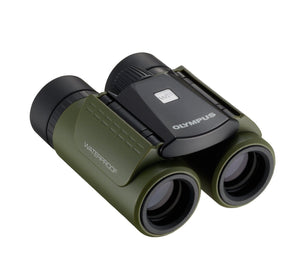 Olympus 8x21 RC II WP Waterproof (Green) Binoculars - folded