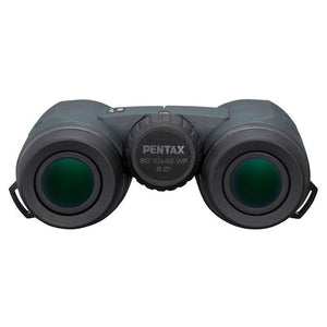 Pentax 10x42 S Series SD WP Binoculars rear view