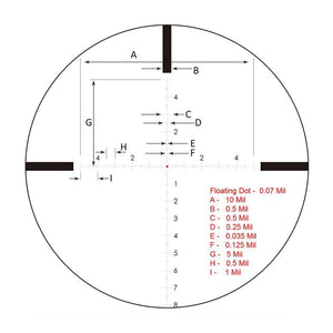 Rudolph Optics Varmint Hunter VH T8 IR Reticle