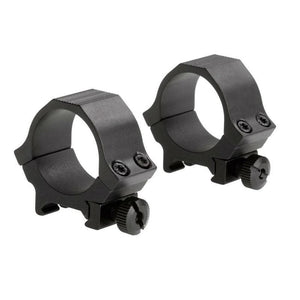 Sun Optics 30mm Weaver Style Sports Riflescope Rings - Low Black Matte