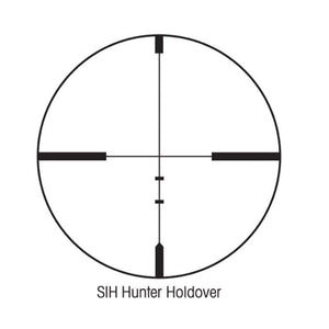 Sightron S1H Hunting 3-9x40 Riflescope (HHR Reticle)