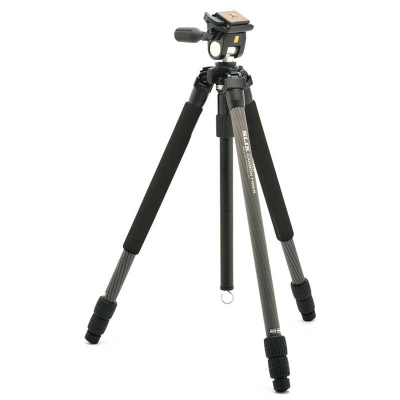 Slik Pro 723EZ Carbon Fibre Tripod with Multi-Action Pan Head