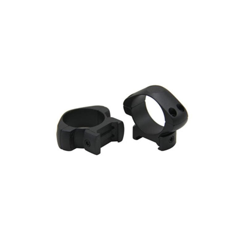 Stealth 30mm Steel Weaver Riflescope Rings - low