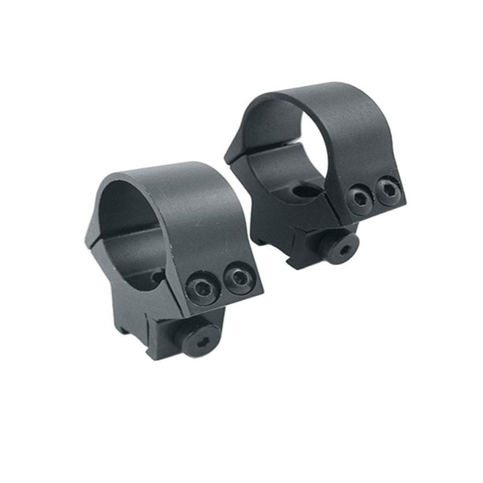 "Sun Optics 1"" Fixed Airgun Rings for 11mm Dovetail Grooved Receivers"