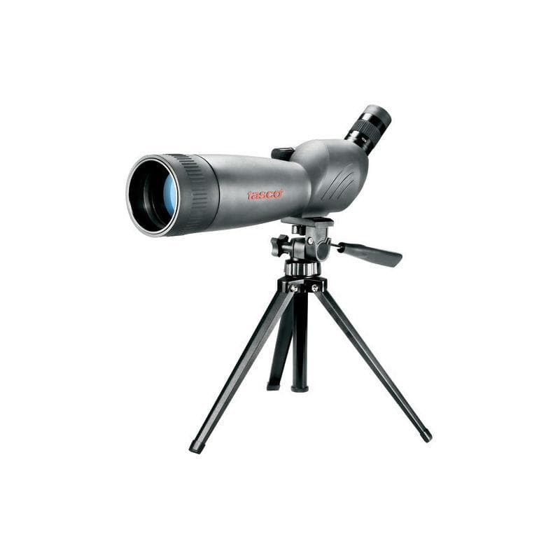 Tasco World Class 20-60x80 Compact Spotting Scope (Angled View)