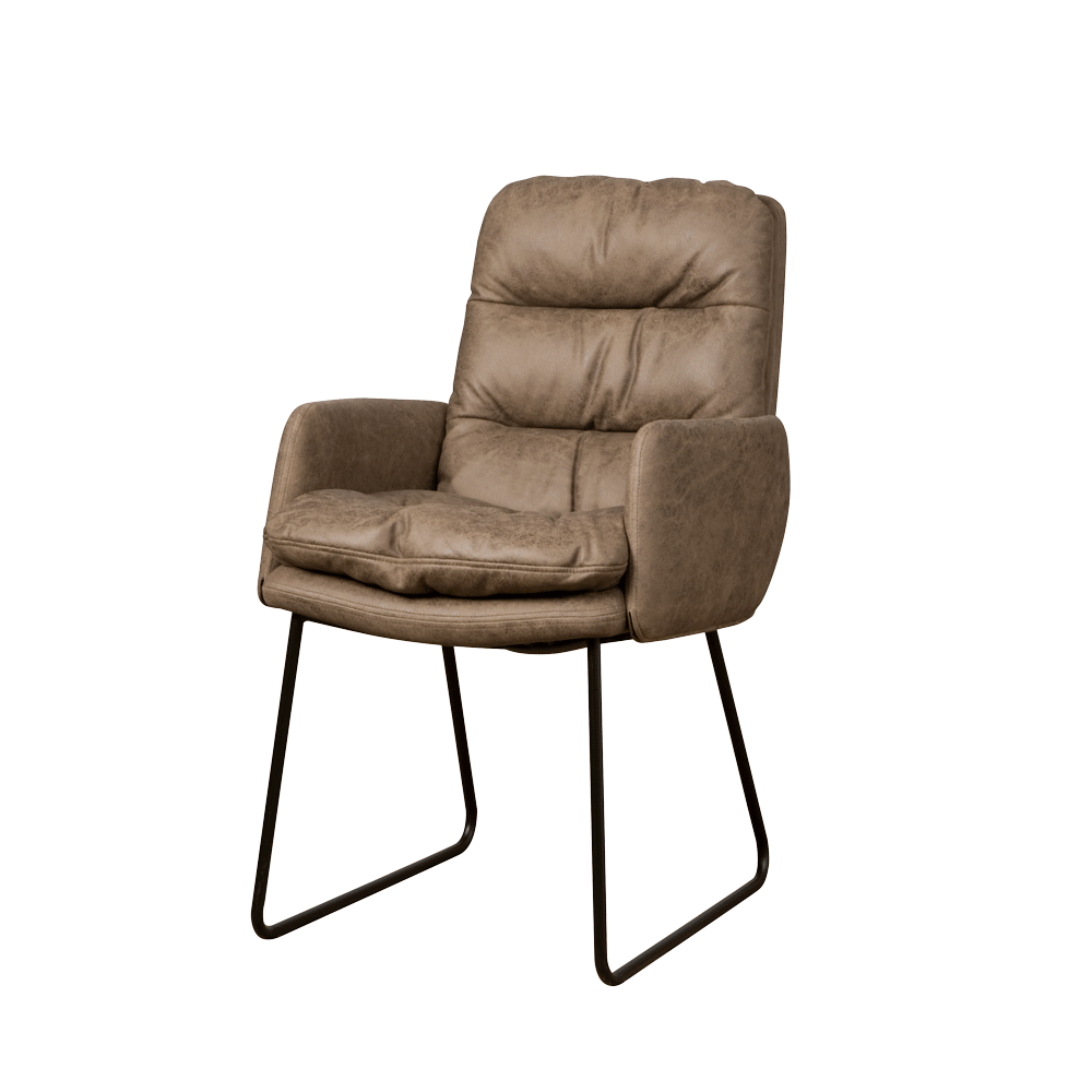 Toro armchair  cabo  taupe