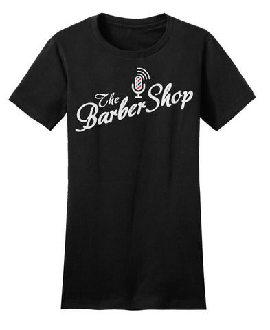 Original Women's Barbershop Tee (Black)