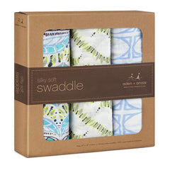 Wild One Swaddles | 3 Pack - French Chateau