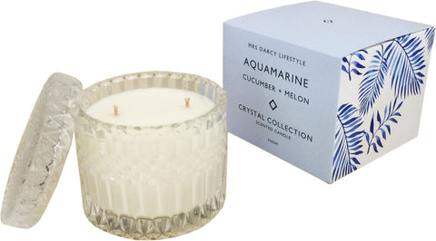 Aquamarine - Cucumber + Melon | Candle