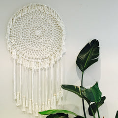 Macrame Wall Hanging - French Chateau