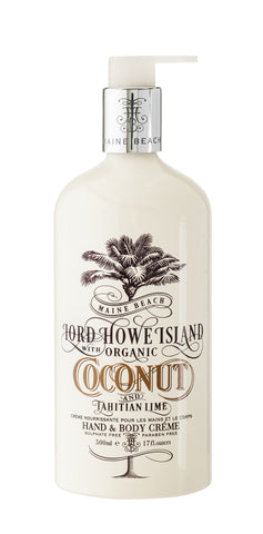 Coconut & Tahitian Lime Body Creme