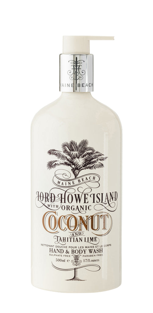 Coconut & Tahitian Lime Hand & Body Wash - French Chateau