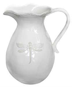 Small White Dragonfly Pitcher