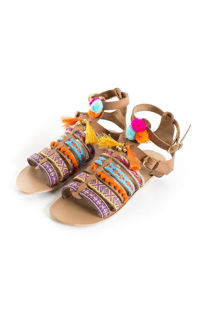 Zina Sandals - French Chateau