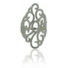 Honeycomb Ring - French Chateau