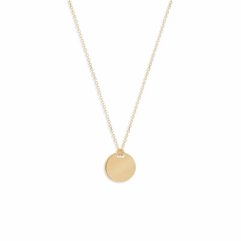 14k Gold Live in Light Small Necklace