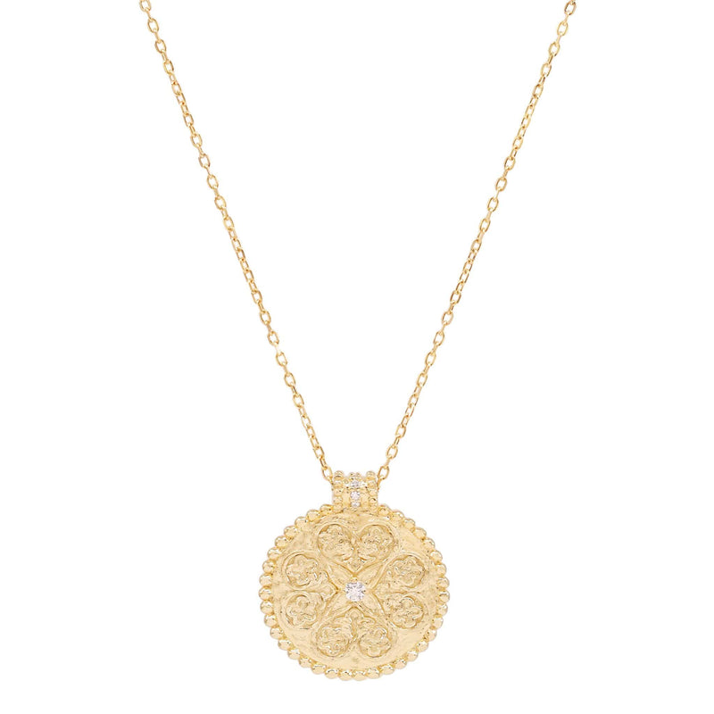 Gold Believe in Luck Necklace