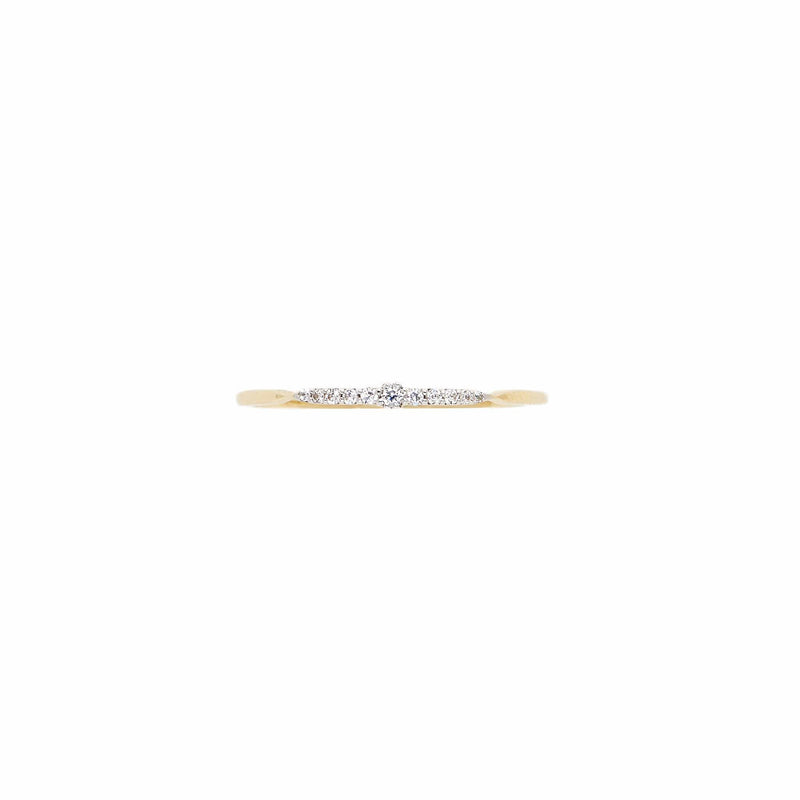 14k Gold Celestial Light Ring