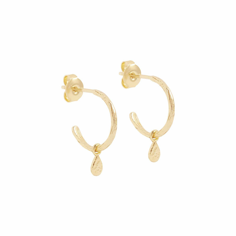 Gold Grace Hoops