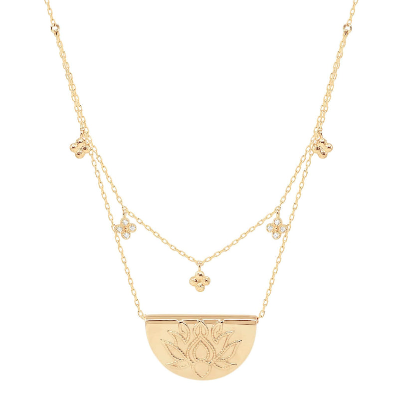 Lotus of Hope Necklace