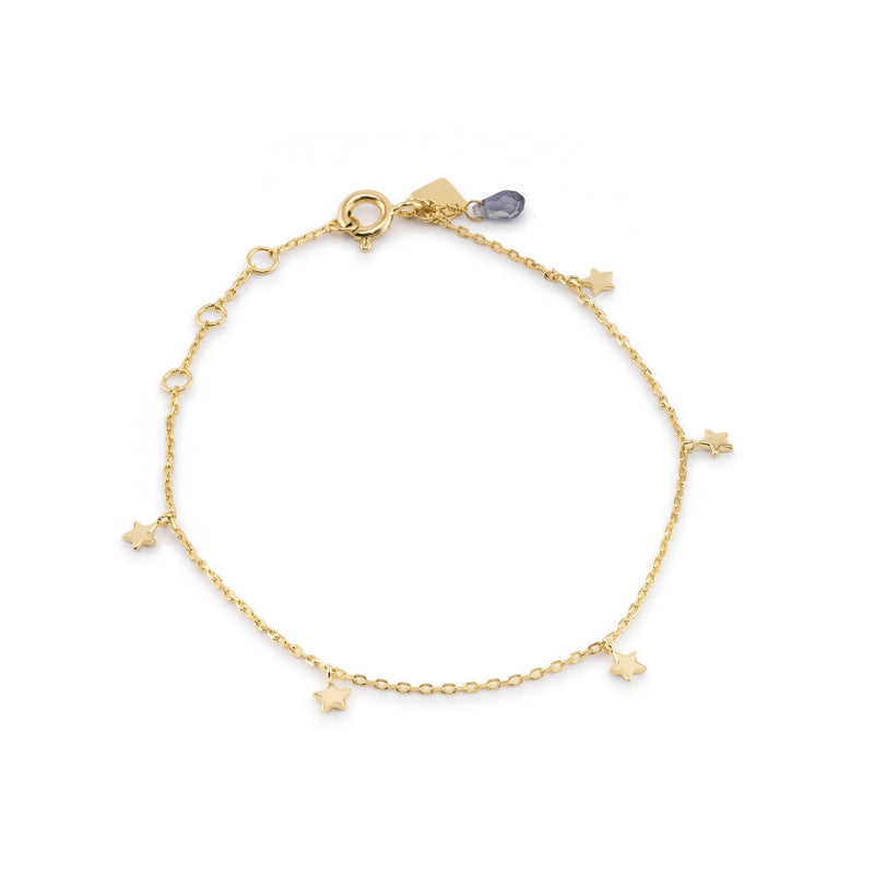 Gold Star Bright Bracelet