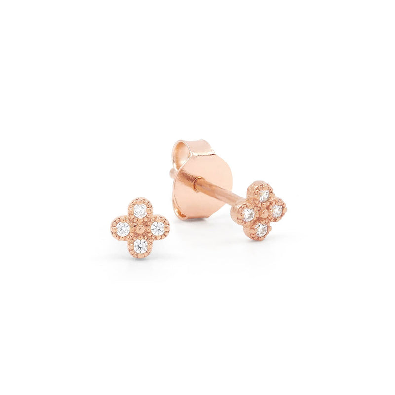 Rose Gold Luminous Earrings