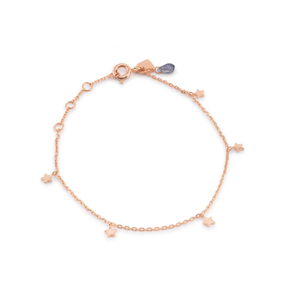 Rose Gold Star Bright Bracelet