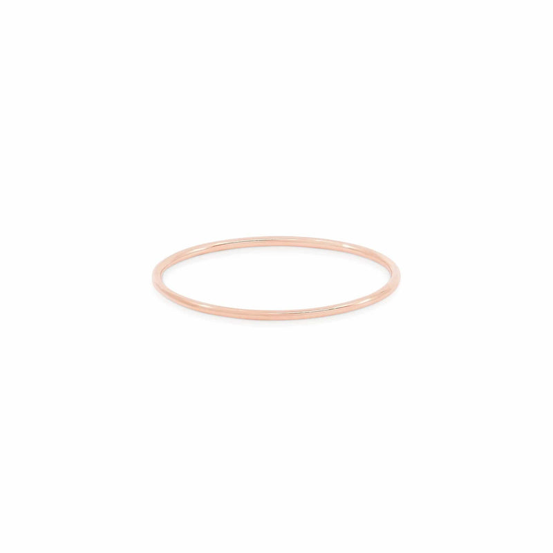 14k Rose Gold Sweet Purity Ring
