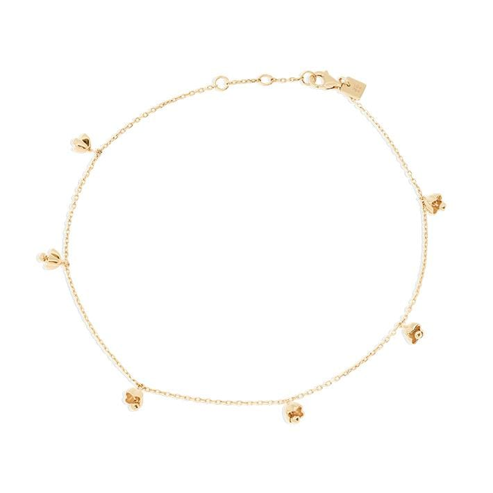 Lotus Bell Anklet