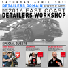 Detailer's Domain presents our 2016 Detailers' Workshop with Rupes and Ammo