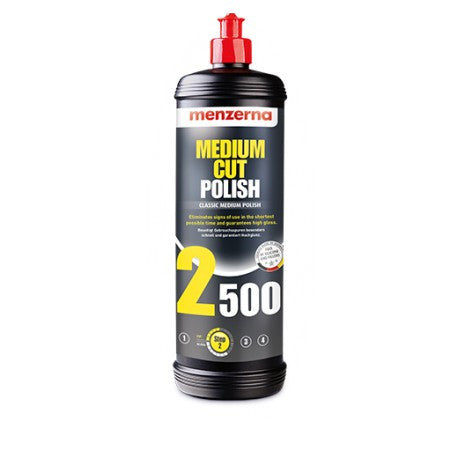 Menzerna Medium Cut Polish 2500 - Detailers Domain