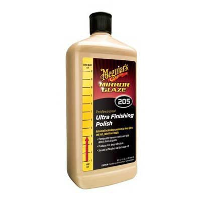Meguiar's Mirror Glaze Ultra Finishing Polish M205 32oz - Detailer's Domain