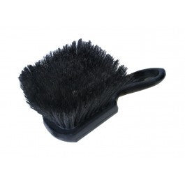 "Wheel Woolies - WHEEL BRUSH 9"" EPOXY SET BLACK BOAR HAIR - Detailer's Domain"