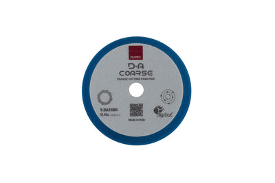 Rupes D-A Coarse Cutting Foam Pads - High Performance - Blue - Detailers Domain