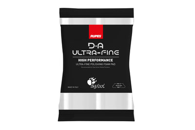 Rupes D-A Ultra Fine Pads - High Performance - White - Detailers Domain