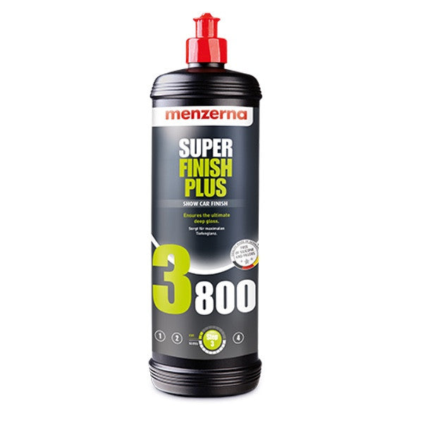 Menzerna Super Finish Plus 3800 - Detailers Domain