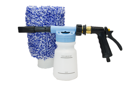 Uber Car Foam Gun & Free Detailer's Domain Wash Mitt