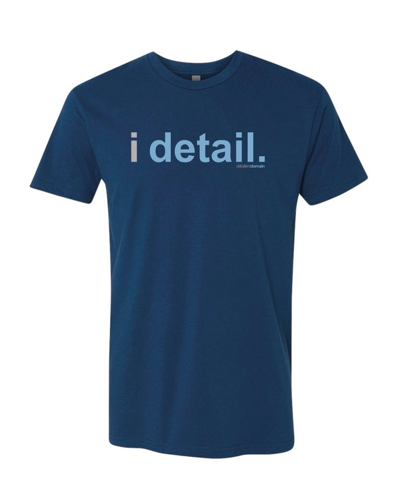 Detailer's Domain IDetail T-Shirt - Blue - Detailers Domain