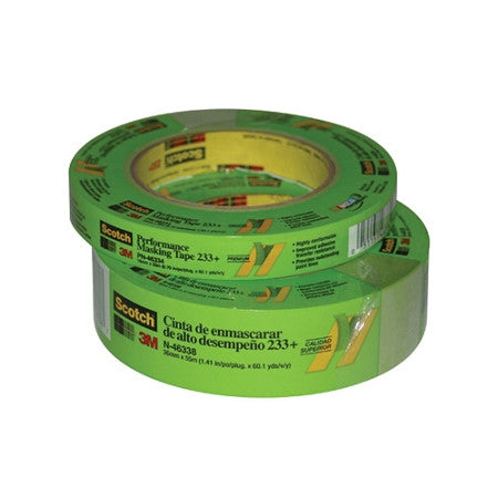 3M Masking Tape 233+ 3/4 inch thick - Detailer's Domain