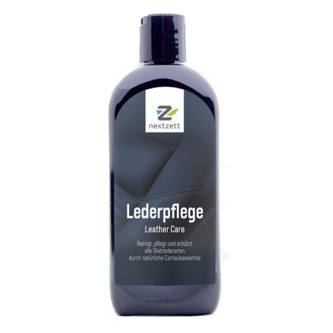 nextzett Leather Care 'Lederpflege' 8.5 oz / 250 ml - Detailer's Domain