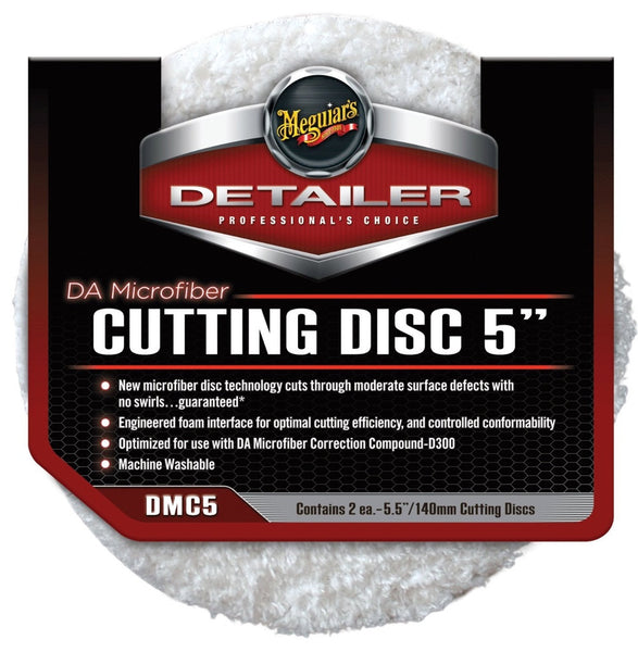 Meguiar's DA Microfiber Cutting Disc 2-Pack