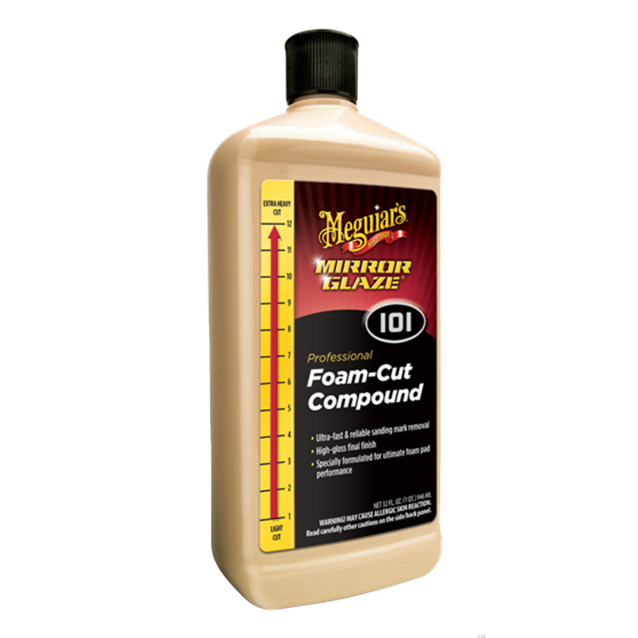Meguiar's Foam Cut Compound M101 - Detailer's Domain