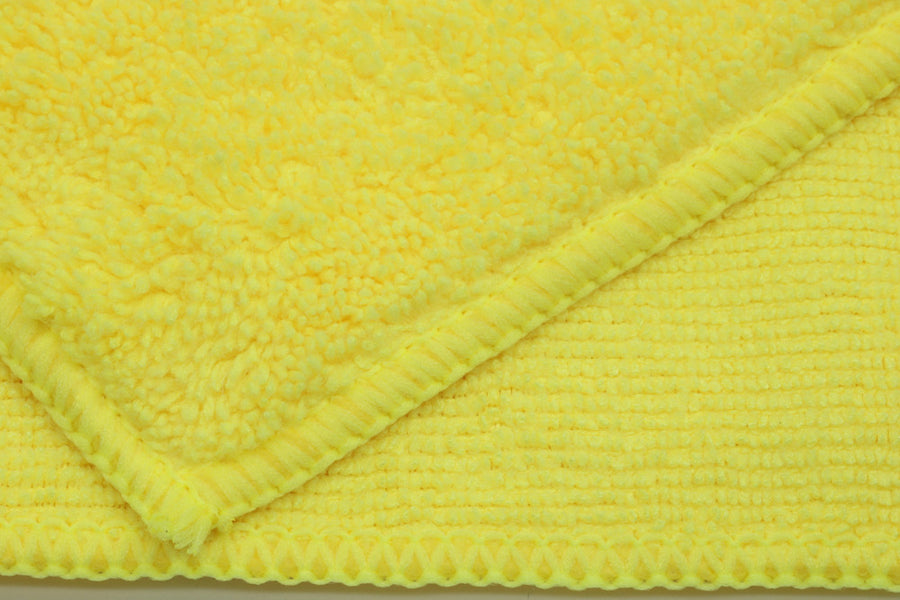 Uber Microfiber Towels - Yellow - Detailer's Domain