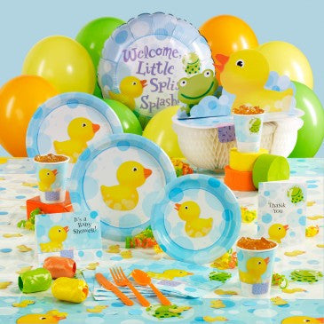 Baby Shower with Rubber Ducks
