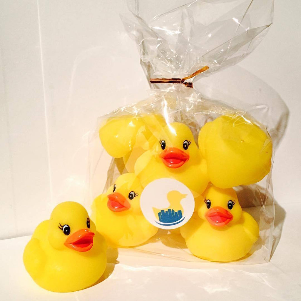 "2"" Mini Pretty Rubber Duck"