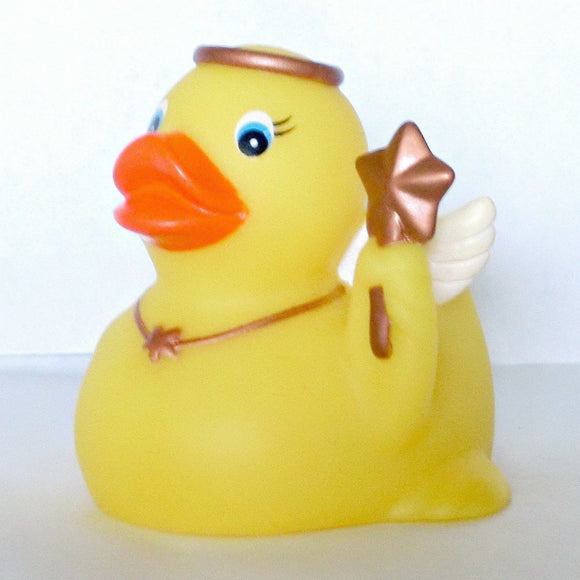 Rubber Angel Duck