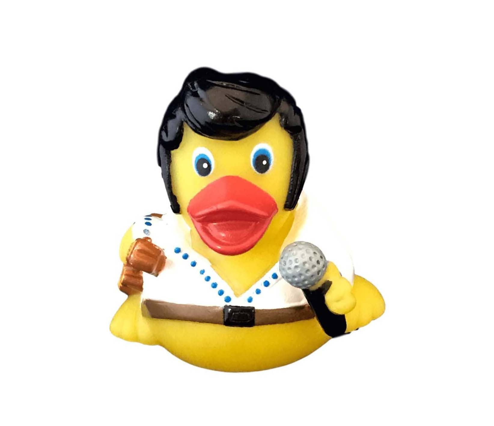 Rubber Rock N Roll Duck