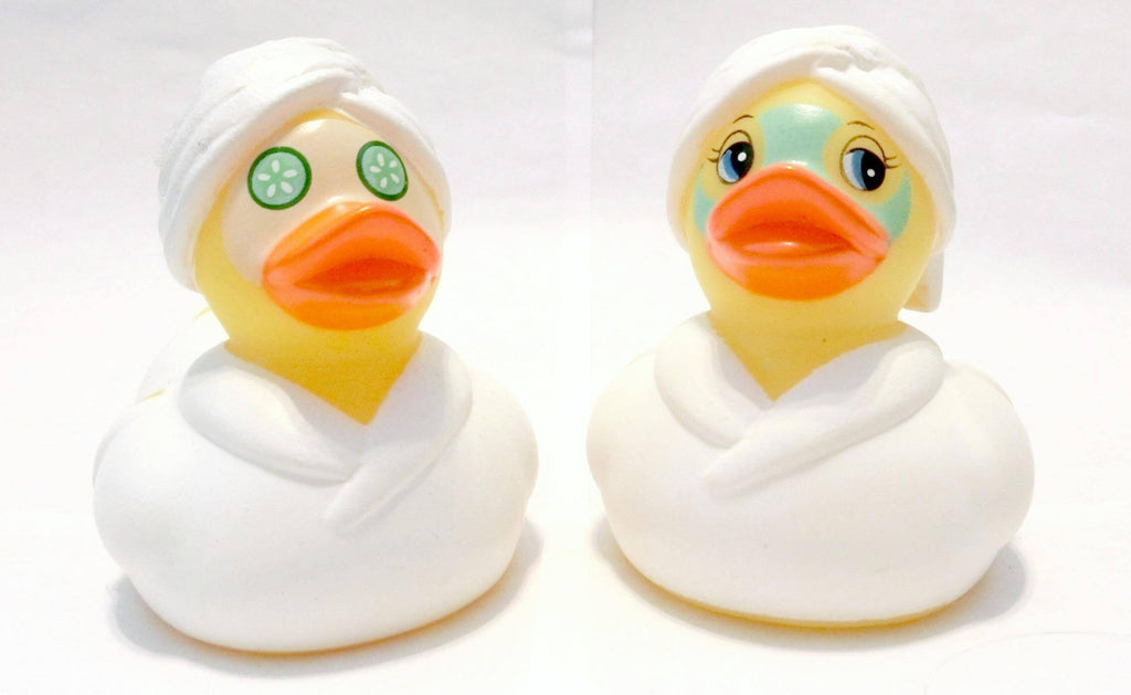 Facial Rubber Duck