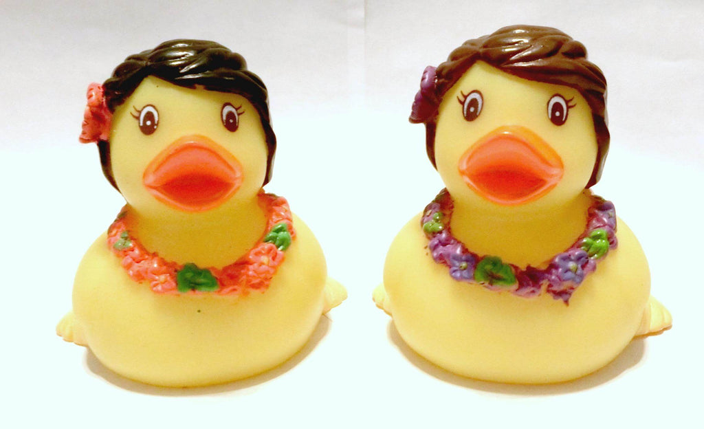 Hula Rubber Duck
