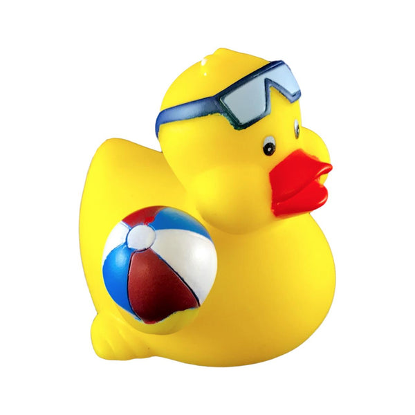 Beach Ball Rubber Duck Personalized Rubber Ducks For